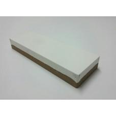 Pedra de afiar dupla face 8 x 3 cm