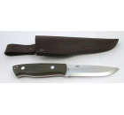 Faca EnZo Trapper 95 N690Co/Sc/Green Micarta
