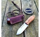 Joker Avispa Neck-Knife Scandi Edc Nogueira