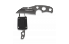 Neck-Knife K25 Titanio com Bainha Kydex H7