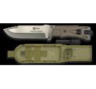 Faca K25 Tac Coyote com Firesteel