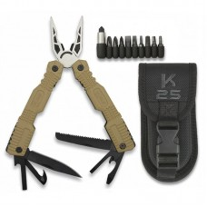 Alicate Multi-Tool K25 Tactico 17 cm Coyote