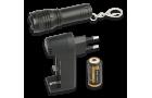 Lanterna Recarregável com Carregador e Bateria