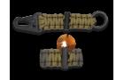 Porta-chaves Sobrevivência com Firesteel Coyote