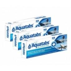 Aquatabs Pastilhas de Purificação de Água, 3 Caixas