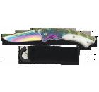 Navalha Albainox Rainbow Titânio