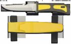 Faca Albainox Mergulho Amarela