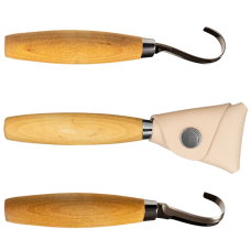 Mora Wood Carving 164 com Bainha Couro