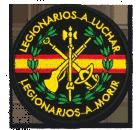Patch Legionários Espanha