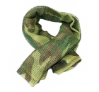 Lenço de Rede, Escarfe Verde Camo
