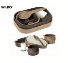 Kit Refeição Wildo Camp-a-Box Desert